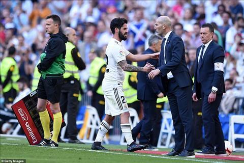 Zidane Isco Real Madrid 2-0 Celta Vigo