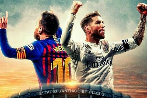 Real Madrid vs Barcelona El Clasico của danh dự hình ảnh