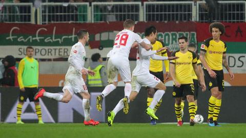 Augsburg 2-1 Dortmund