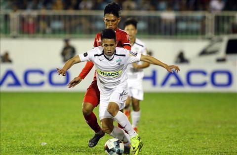 Hồng Duy trấn an đồng đội sau thất bại của HAGL trước TPHCM hình ảnh