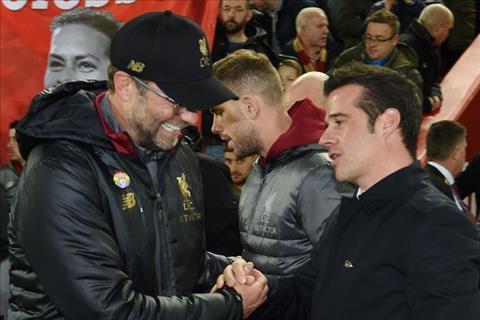 HLV Marco Silva phát biểu trận Everton vs Liverpool hình ảnh