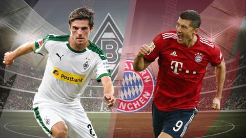 Gladbach vs Bayern Munich 0h30 ngày 33 (Bundesliga 201819) hình ảnh
