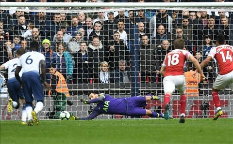 Tottenham vs Arsenal Aubameyang da hong penalty