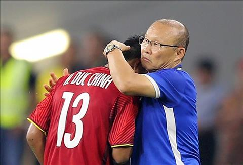Duc Chinh vs HLV Park Hang Seo
