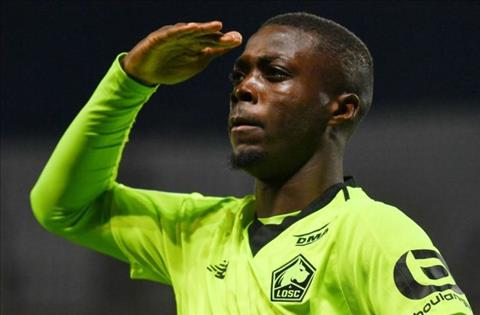 Arsenal that bai truoc Bayern Munich vu Nicolas Pepe
