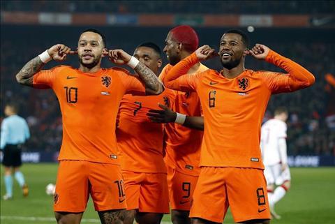 Hà Lan 4-0 Belarus ở vòng loại Euro 2020 Memphis Depay tỏa sáng  hình ảnh