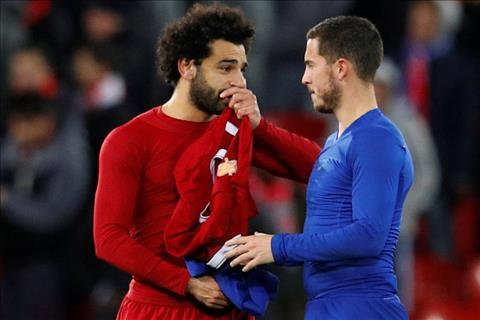 Hazard thừa nhận thua kém Salah hình ảnh