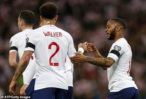 Anh 5-0 Séc Hat-trick của Sterling giúp Tam sư khởi đầu suôn sẻ ở vòng loại Euro 2020 hình ảnh 2