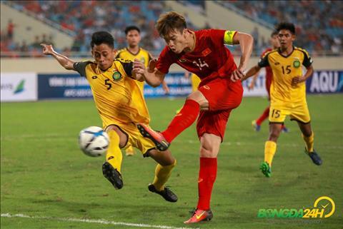 màn trình diễn của Hoàng Đức trước U23 Brunei  hình ảnh