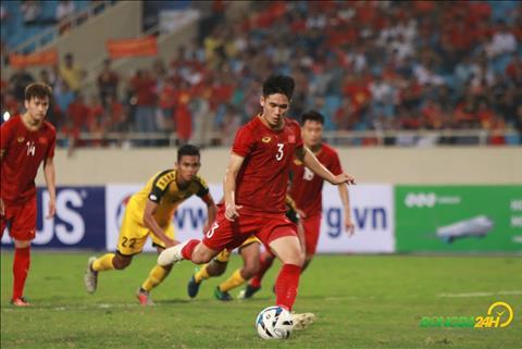 Tan Sinh U23 Viet Nam vs U23 Brunei