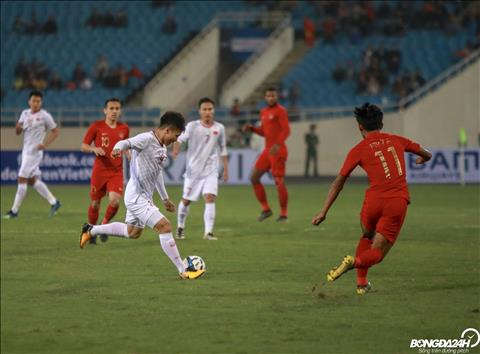 U23 Việt Nam 1-0 U23 Indonesia (KT) Thắng vào phút chót, U23 Việt Nam còn cách VCK 1 điểm hình ảnh 4