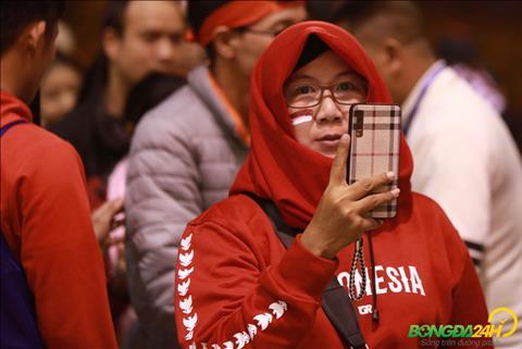 Chùm ảnh Ấn tượng với các CĐV Indonesia tại Mỹ Đình hình ảnh