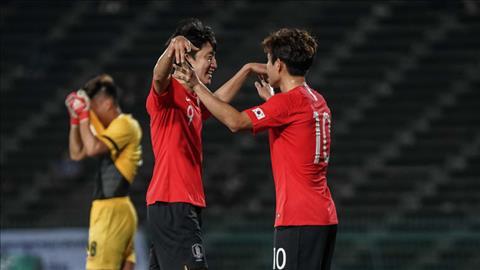 U23 Campuchia vs U23 Han Quoc
