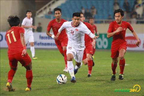 Duc Chinh U23 Viet Nam vs U23 Indonesia