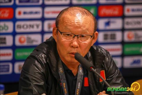 HLV Park Hang Seo chia se sau tran thang U23 Indonesia