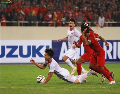 Du da ran nhung U23 Indonesia khong the ngan DT U23 Viet Nam gianh chien thang voi ban thang duy nhat cua Trieu Viet Hung.