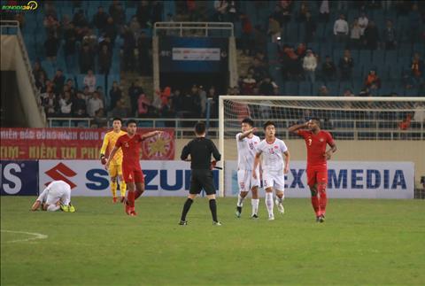 Tình huống chơi xấu của cầu thủ U23 Indonesia với Đoàn Văn Hậu hình ảnh