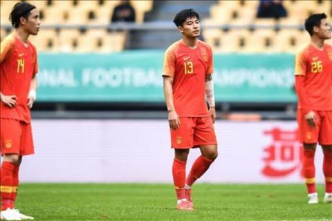 ĐT Trung Quốc đại bại ở giải giao hữu Tứ hùng 2019 hình ảnh