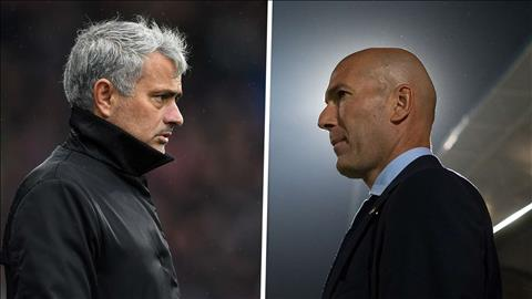 Mourinho ung ho Zidane dan dat Real Madrid