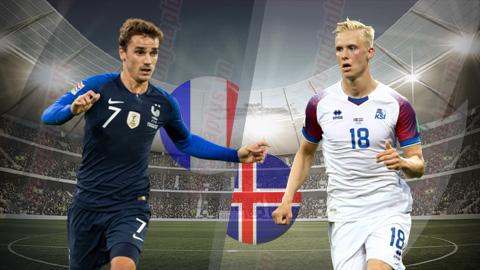 Pháp vs Iceland 2h45 ngày 263 (Vòng loại Euro 2020) hình ảnh