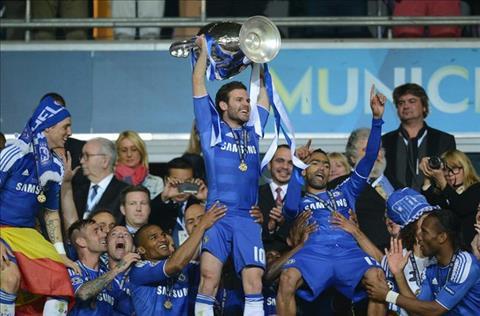 Juan Mata vo dich Champions League
