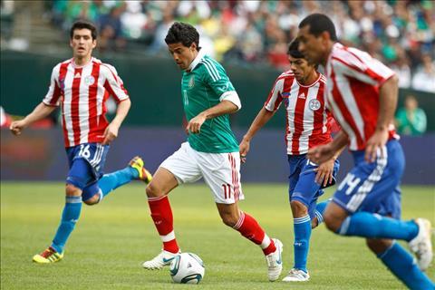 Mexico vs Paraguay 9h00 ngày 273 (Giao hữu quốc tế) hình ảnh
