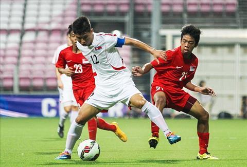 U23 Trieu Tien vs U23 Hong Kong