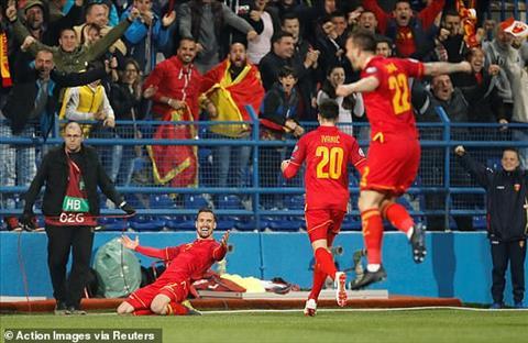 Trực tiếp Montenegro vs Anh bảng A vòng loại Euro 2020 đêm nay hình ảnh