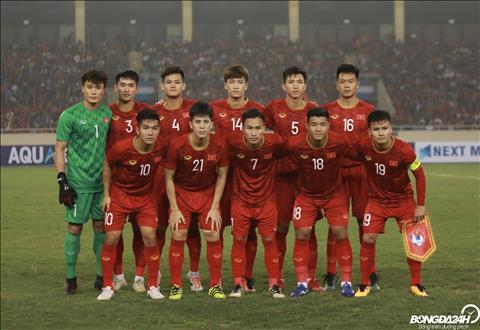 Doi hinh xuat phat cua U23 Viet Nam