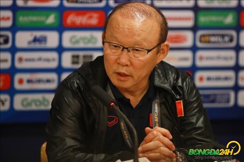HLV Park Hang Seo chia se sau tran thang U23 Thai Lan