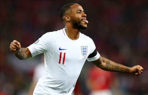 Raheem Sterling lập kỷ lục cá nhân sau trận Anh thắng Montenegro hình ảnh