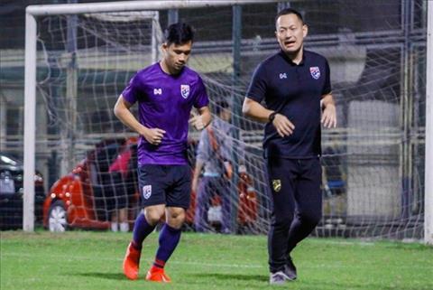 U23 Thai Lan nhan tin du truoc tran gap Viet Nam