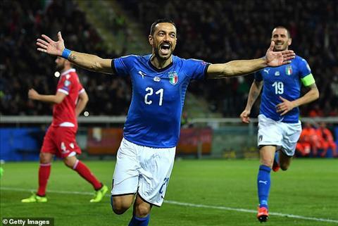 Video Italia vs Liechtenstein 6-0 vòng loại Euro 2020 hôm nay hình ảnh