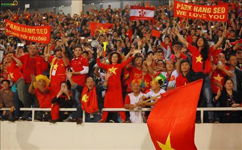 Cac CDV bay to tinh yeu voi tap the DT U23 Viet Nam.