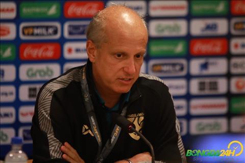 HLV Alexandre Gama chỉ ra lý do U23 Thái Lan thất bại 0-4 hình ảnh