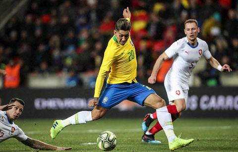 Video Séc vs Brazil 1-3 video bàn thắng Giao hữu quốc tế 2019 hình ảnh