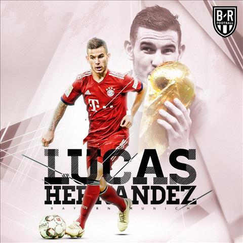 CHÍNH THỨC Bayern chiêu mộ Lucas Hernandez với giá kỷ lục hình ảnh