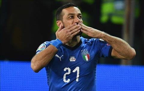 Fabio Quagliarella phát biểu sau trận Italia 6-0 Liechtenstein hình ảnh