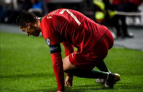 Ronaldo dinh chan thuong