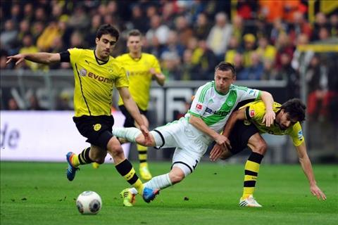 Dortmund vs Wolfsburg 21h30 ngày 303 (Bundesliga 201819) hình ảnh