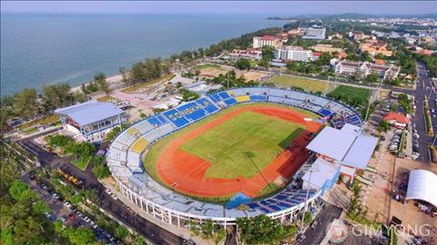 SVD thu ba to chuc VCK U23 chau A 2020 la san Tinsulanon tai Songkhla, cach Bangkok khoang hon 950 km neu di chuyen bang o to.