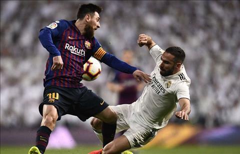 Dani Carvajal phát biểu sau trận Real 0-1 Barca hình ảnh