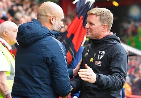 Eddie Howe phát biểu sau trận Bournemouth 0-1 Man City hình ảnh