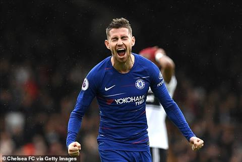 Jorginho giup Chelsea dan truoc 2-1 sau hiep 1