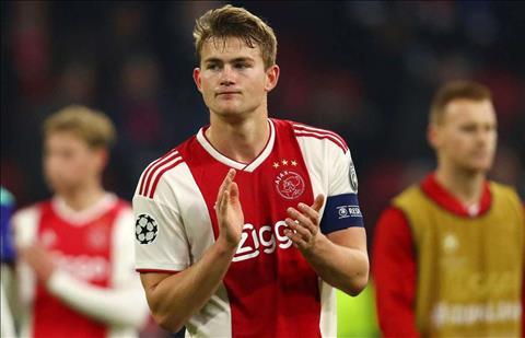 MU mua trung vệ De Ligt của Ajax kỳ chuyển nhượng hè 2019 hình ảnh