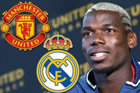 Tien ve Paul Pogba gia nhap Real Madrid