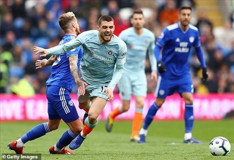 Chelsea gap kho truoc hang thu so dong cua Cardiff