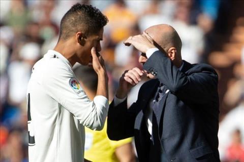 HLV Zidane khang dinh Varane hanh phuc o Real Madrid