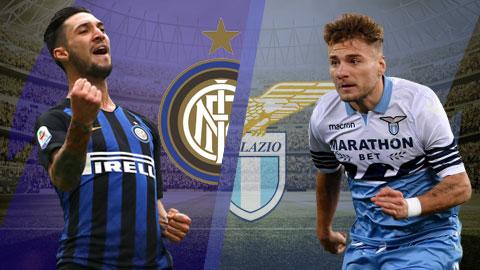Inter Milan vs Lazio 1h30 ngày 14 (Serie A 201819) hình ảnh