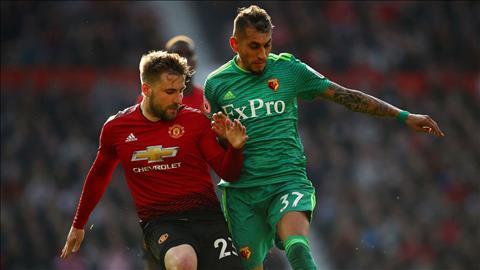 Shaw thừa nhận MU thắng may Watford hình ảnh